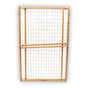 Four Paws Wood Frame Wire Mesh Gates 29 5 Quot 50 Quot W X 44 Quot H