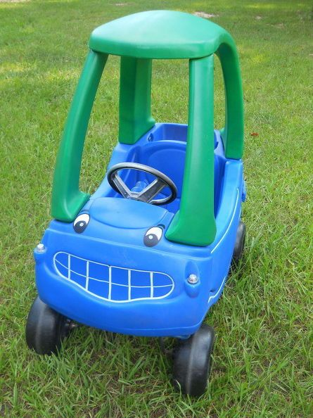10 Too-Good-to-Be-True Cozy Coupe Makeovers | Cozy coupe