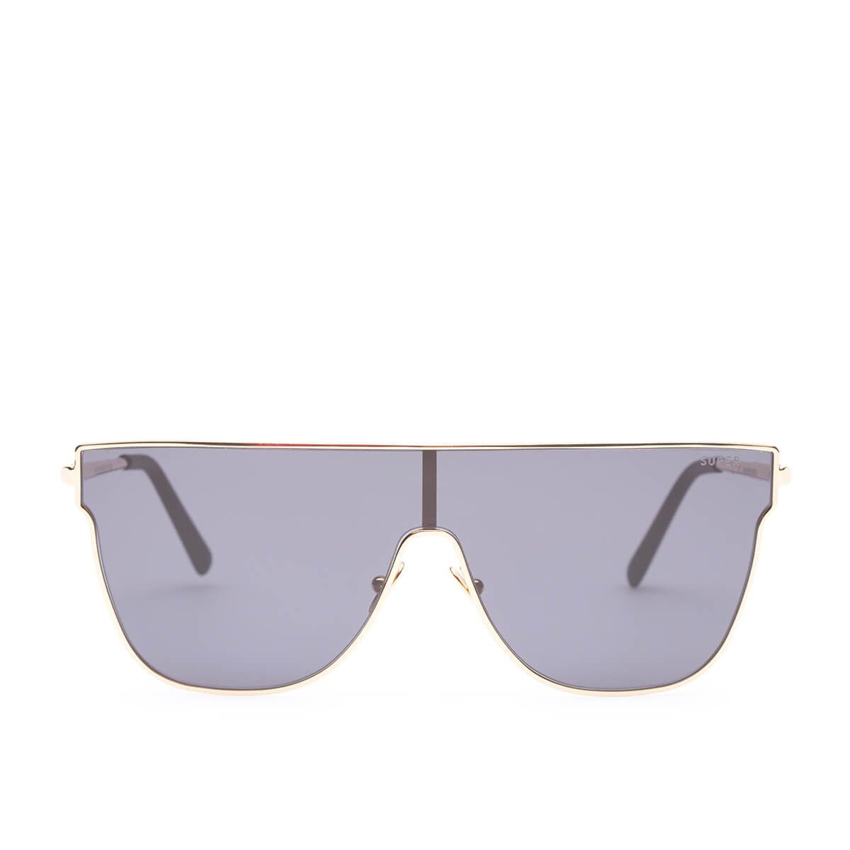 e2823660cd8 Lenz Flat Top sunglasses from Super by RETROSUPERFUTURE collection in black