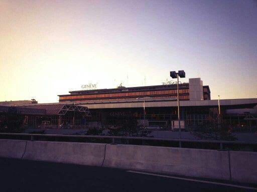 Geneve airport ....glum place.