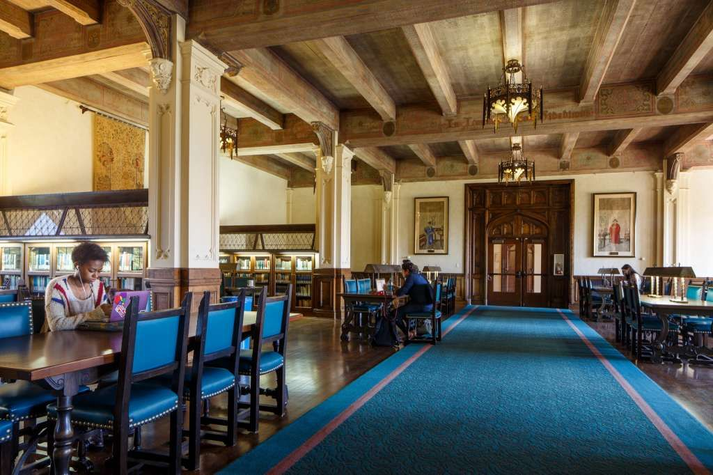 All Sf Public Libraries Will Be Open 7 Days A Week With Images University Of San Francisco Reading Room Library
