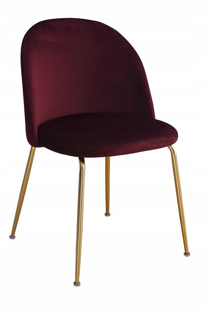 Krzeslo Forli Bordowe Aksamit Zlote Nogi 8002374029 Oficjalne Archiwum Allegro Armchair Design Home Decor Furniture