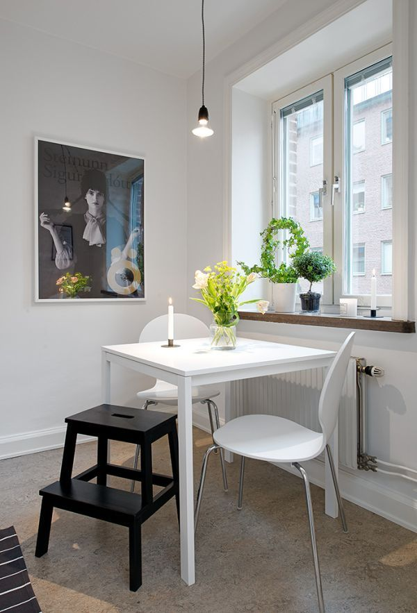 40 Square Meter Apartment With The Well Known Swedish Interior Design