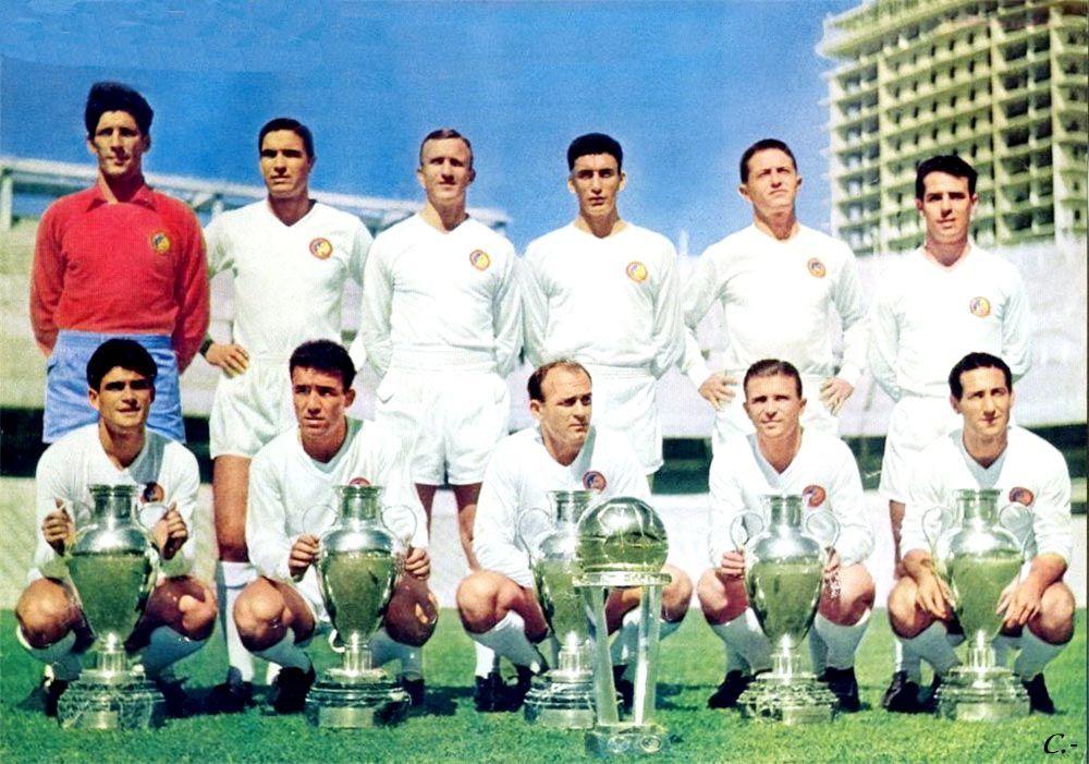 Real Madrid C F 1 960 Final De Un Ciclo C Real Madrid Campeon Real Madrid Equipo De Fútbol