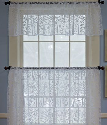 Tree Of Life Lace Tailored Valance Living Room Door Shades Perfect Home Decor Wish List