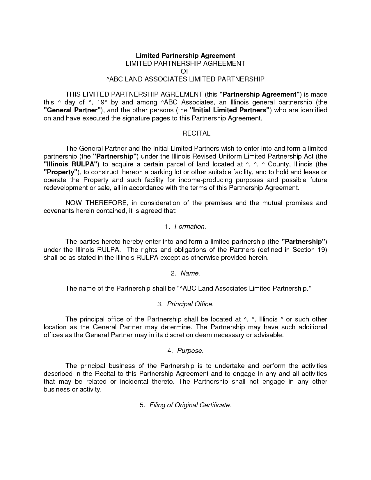 Dissolution Agreement Template Doc Download By Zdn