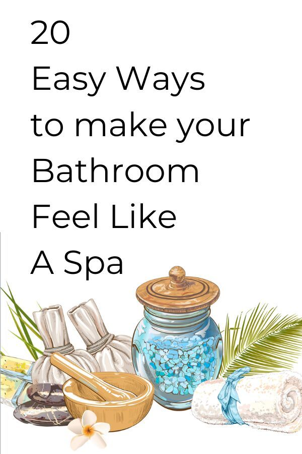 Check out these esay and cheap ways to upgrade your bathroom and make a home spa. These budget friendly bathroom upgrades are simple and will make your bathroom feel more cozy and relaxing. #hometalk