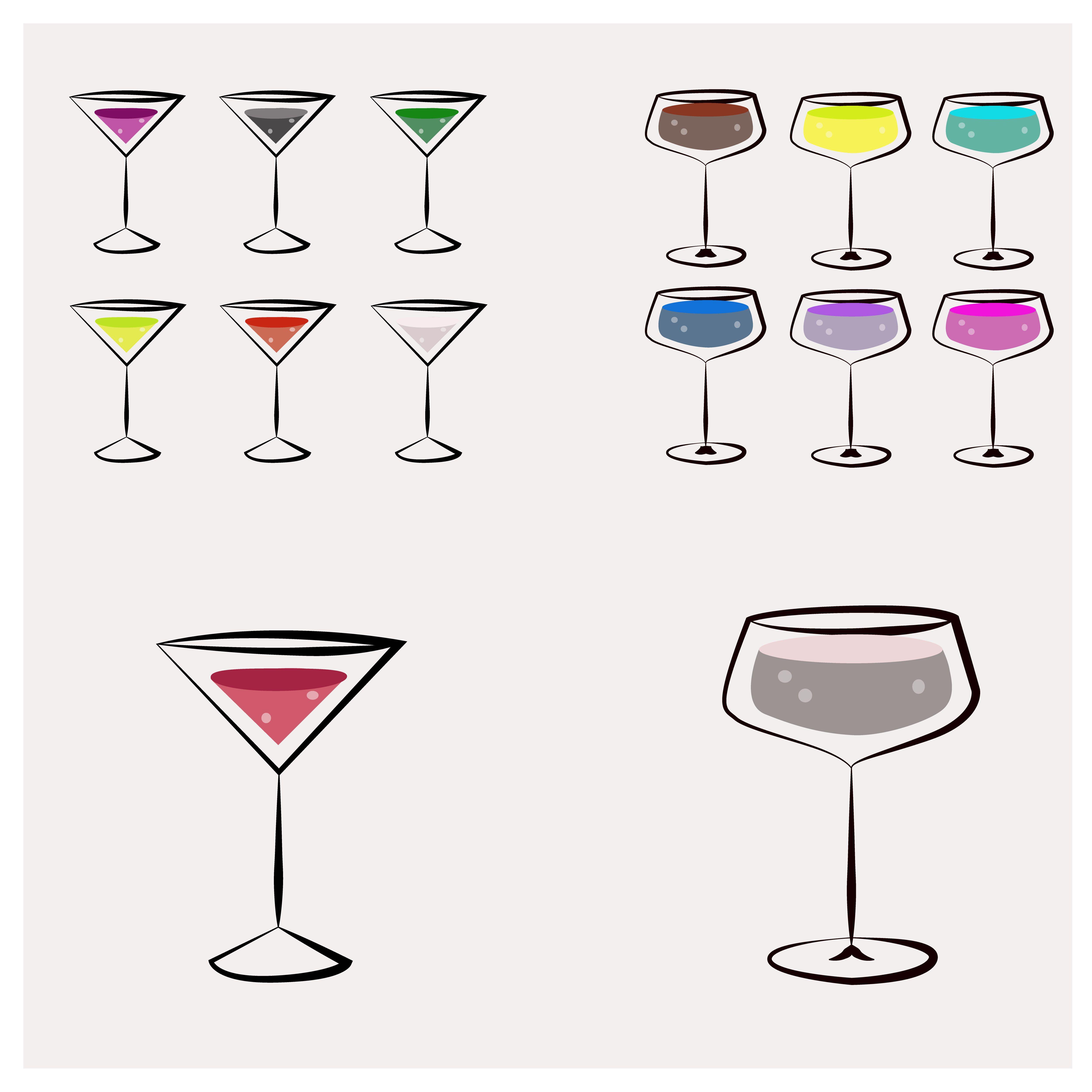 glass; vector; water; juice; cartoon; illustration; design