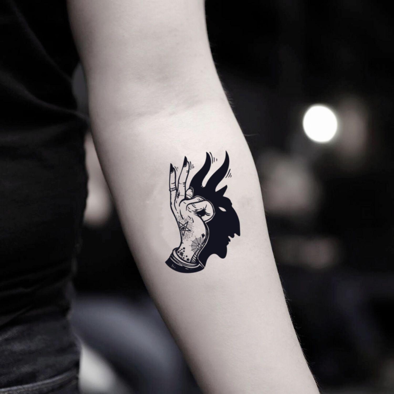 Shadow Temporary Tattoo Sticker (Set of 2) Tattoos
