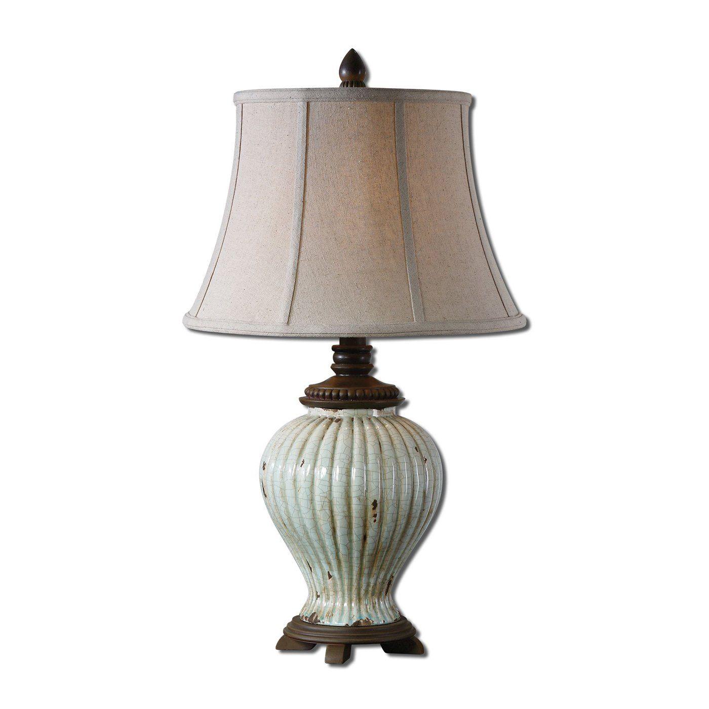 Uttermost 27477 Dernice Aged Ceramic Table Lamp  Lighting Universe
