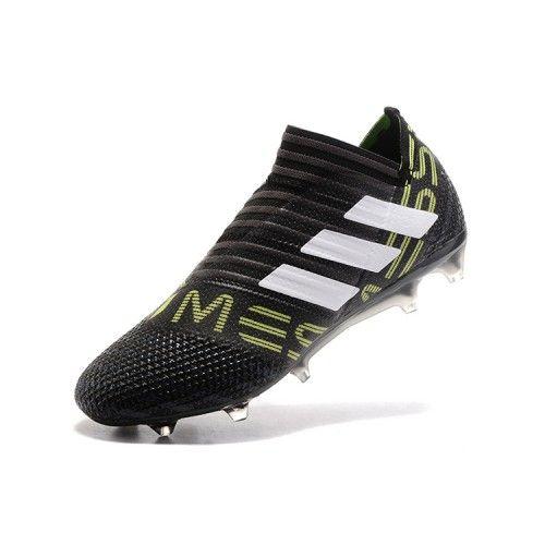 Baratas 2018 De Adidas Nemeziz 17 360Agility Negro Verde Botas De 2018 dc394c