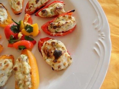 Cream Cheese Stuffed Baby Bell Peppers Recipe Stuffed Peppers Stuffed Bell Peppers Recipes