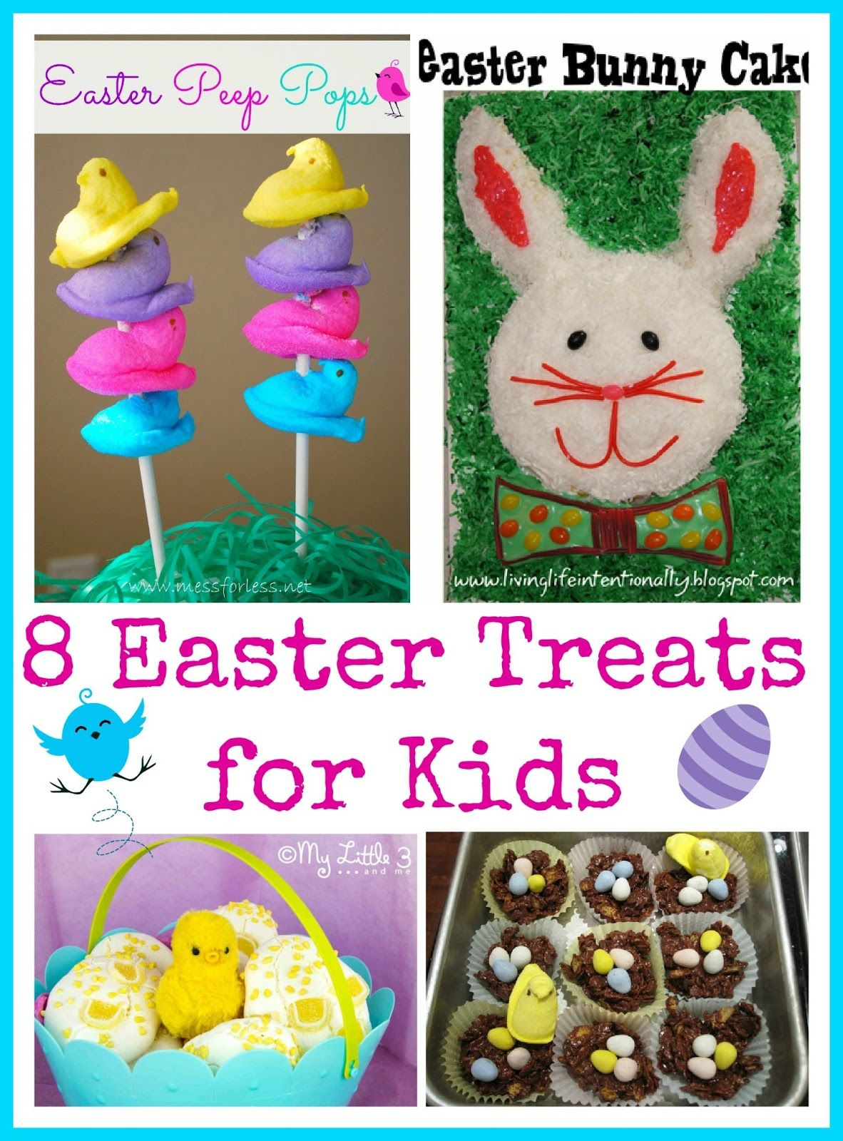 8 easter treats for kids food fun friday easter easter baskets 8 easter treats for kids fun ideas for tasty treats for an easter basket or negle Gallery