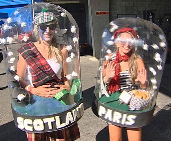 Los 10 disfraces caseros m s originales para carnaval los - Disfraces halloween caseros ...