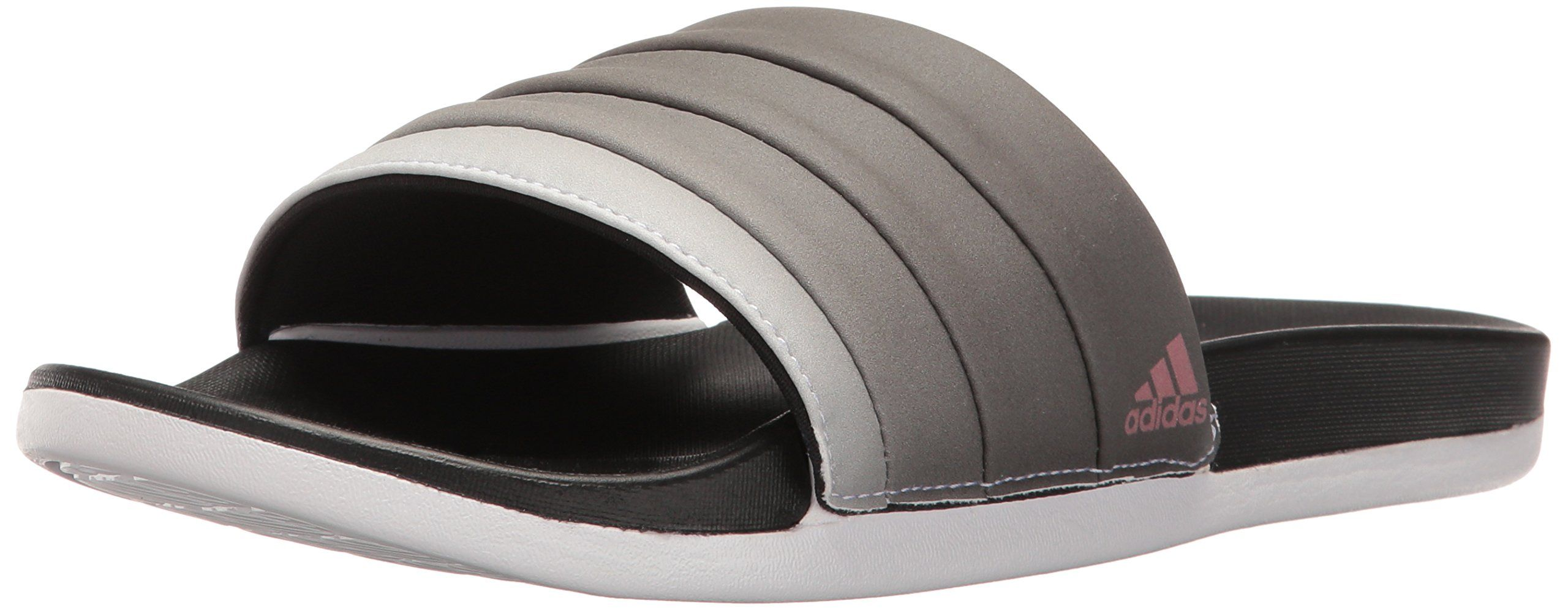 4910b5860f966 adidas Performance Womens Adilette CF Armad Athletic Slide Sandals Black Tech  Rust White 8 M US -- You can find more details by visiting the image link.