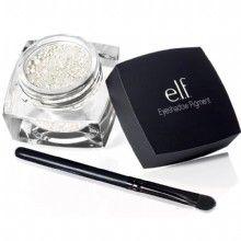 e.l.f. Studio Pigment Eyeshadow in Innocent Ivory  http://www.eyeslipsface.com/studio/eyes/eyeshadow/pigment_eyeshadow