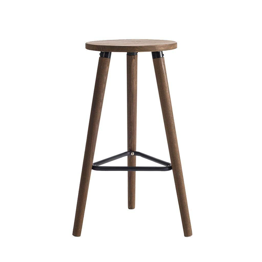 Chuan Han Chair Footstool Round Stool Kitchen Dining Chair Bar Cafe