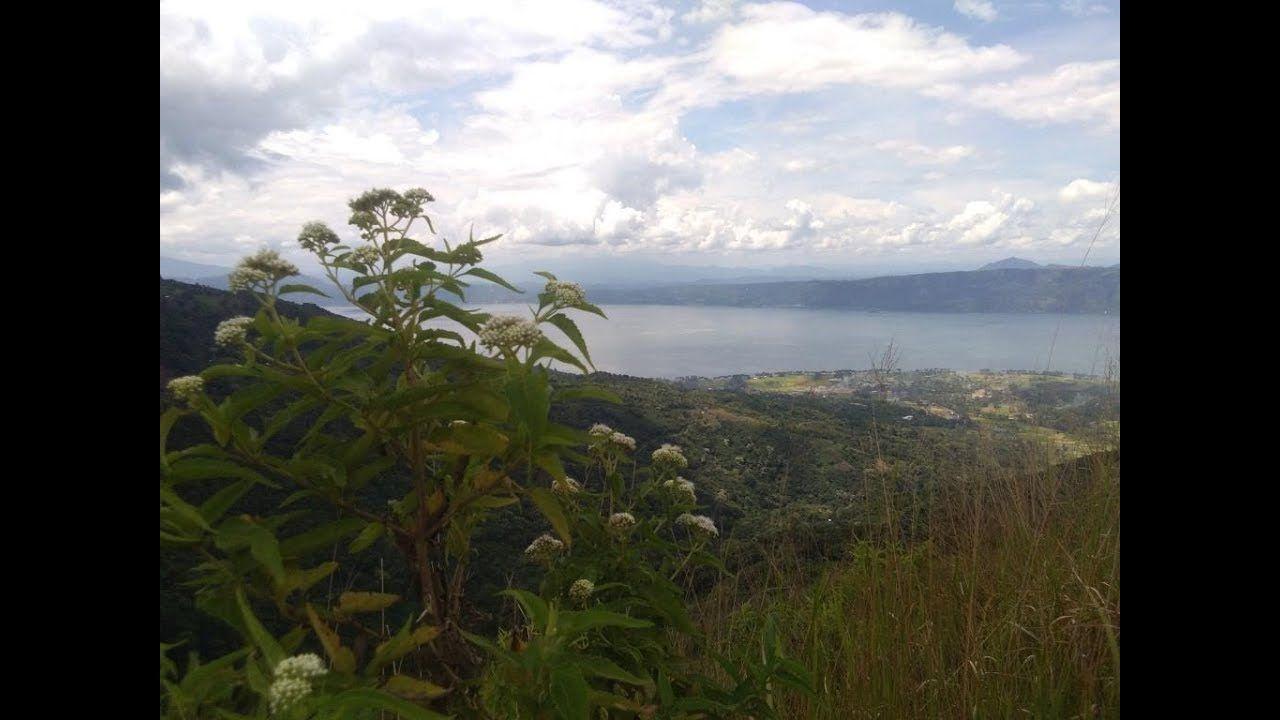 Danau Diatas Danau Dibawah Solok Sumatera Barat Indonesia Pemandangan Tempat Perjalanan
