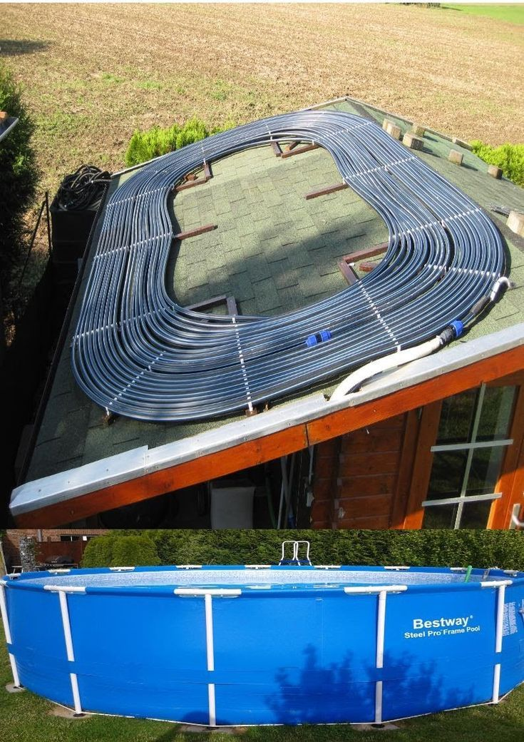 Pool Heating Itself Build Solar Build Heating Pool