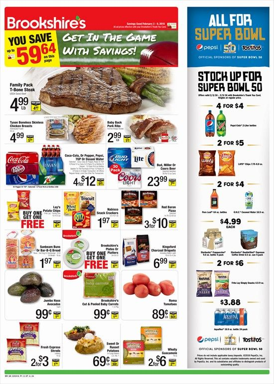 Brookshire's Weekly Ad February 3 - 9, 2016 - http://www.olcatalog.com/grocery/brookshires-weekly-ad.html