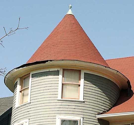 2 Conical Roofing Cap Roof Styles House Roof Roof Architecture
