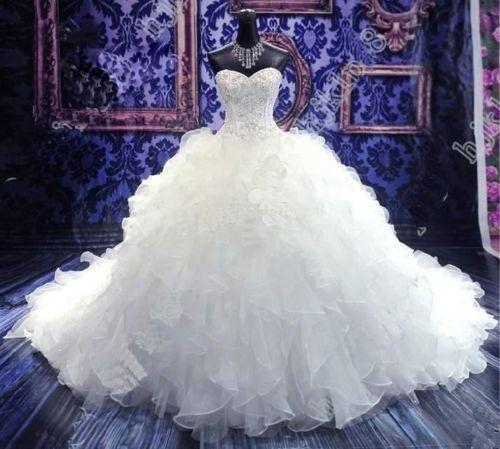 Acheter Robes De Mariée Musulmanes Bleu Royal Col Haut Manches Longues Appliques Avec Robe De Mariée Paillettes Balayage Train Robe De Mariée En