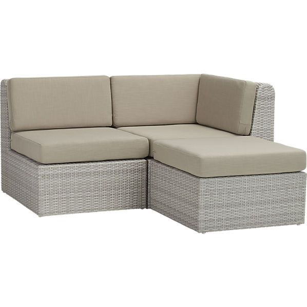Ebb Outdoor Sectional Good Looking