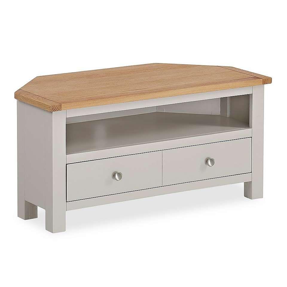 buy popular f2e0d c34a0 Bromley Grey Corner TV Stand | Highbury | Tv stand furniture ...