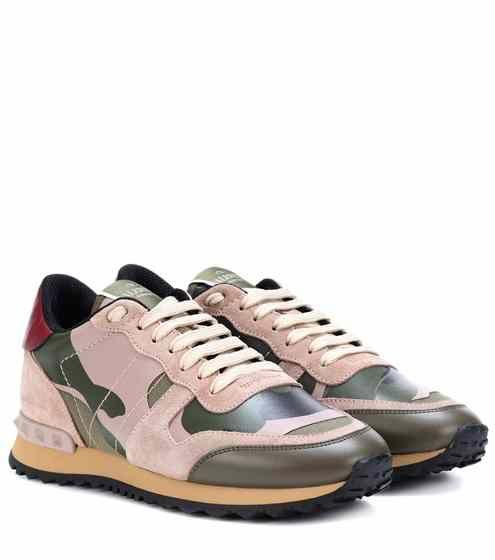 59987a3a84c30 Valentino Garavani Rockrunner camouflage sneakers   Valentino ...