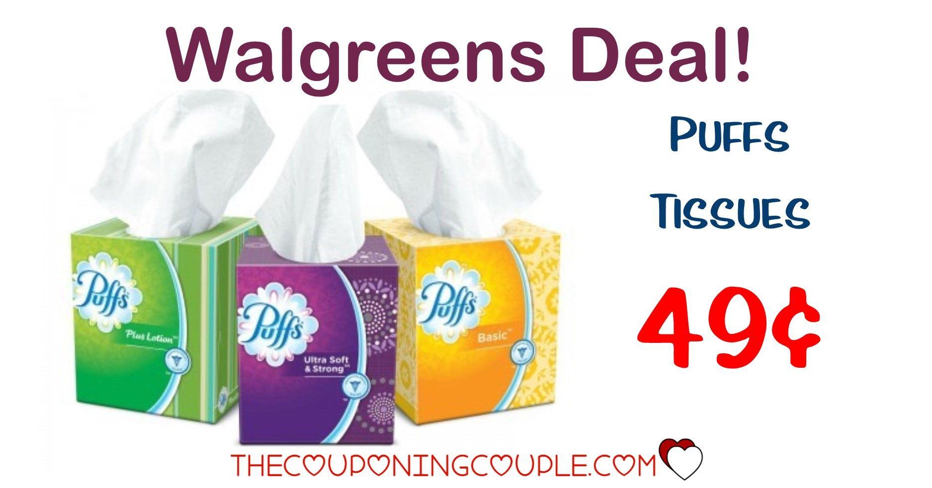 STOCK UP! Puffs Facial Tissues @ Walgreens for $0.49!   Facial ...