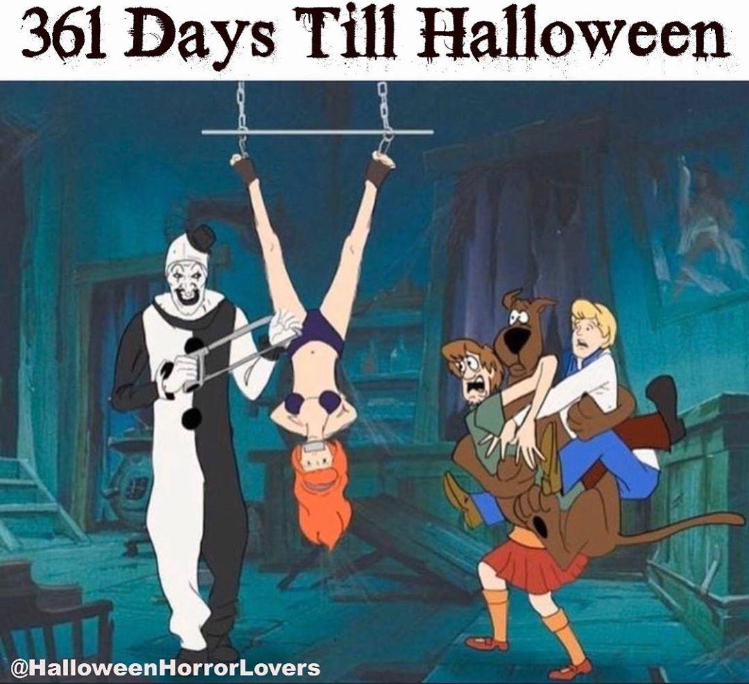 361 Days till Halloween Horror movie icons, Horror movie