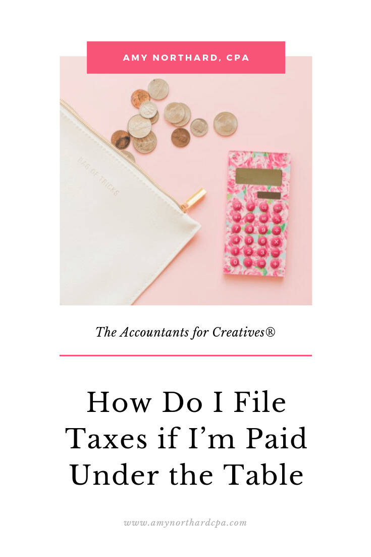 How To Do Taxes If I Get Paid Cash