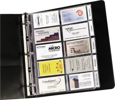 Organize All Business Cards