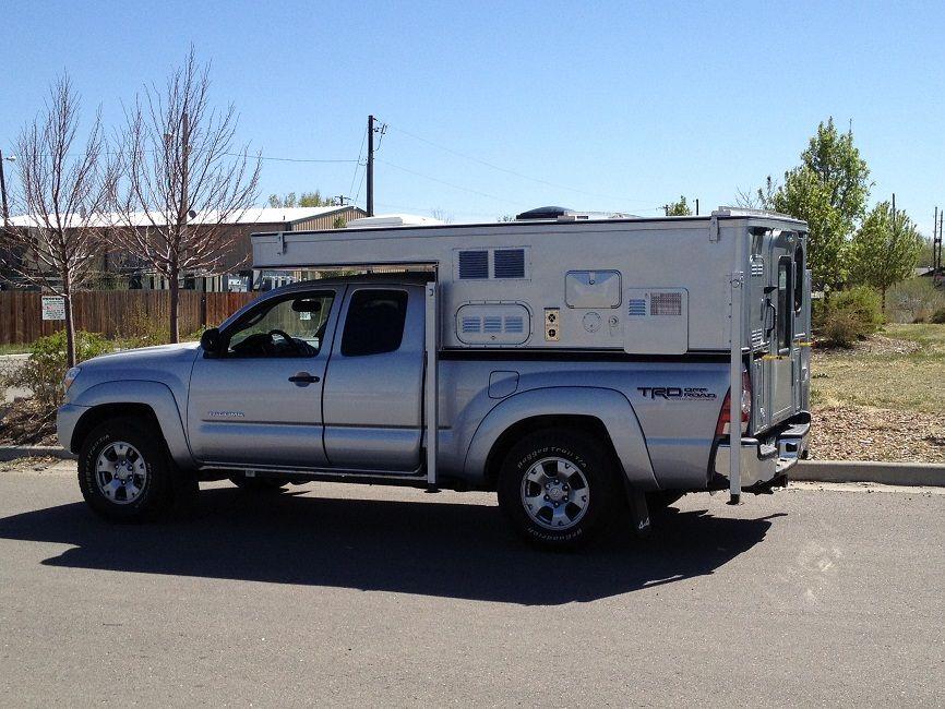 truck Pop Up Campers   Trucks Modification   Truck camper ...