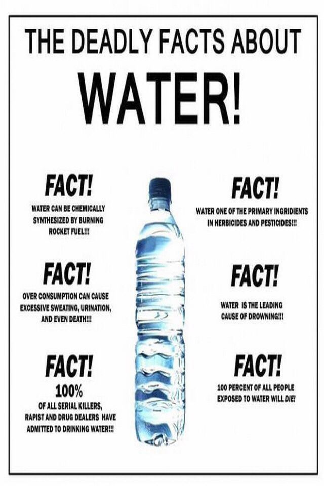 I Have A Difficult Time Drinking Water So This Was Really Funny To