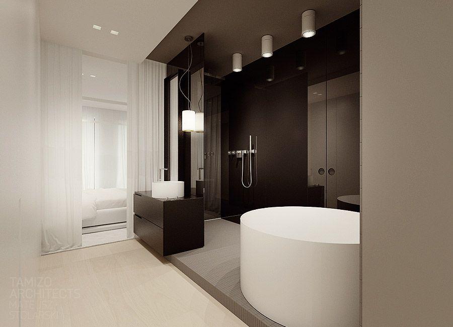 Flat interior design, soft loft @ warsaw by Tamizo Architects