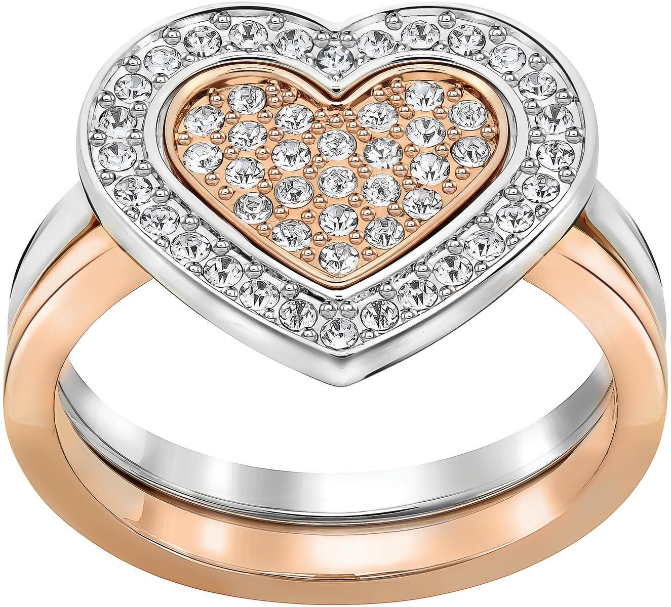Swarovski Cupid Ring Cupid Ring Black Agate Ring Rose Gold Stacking Ring