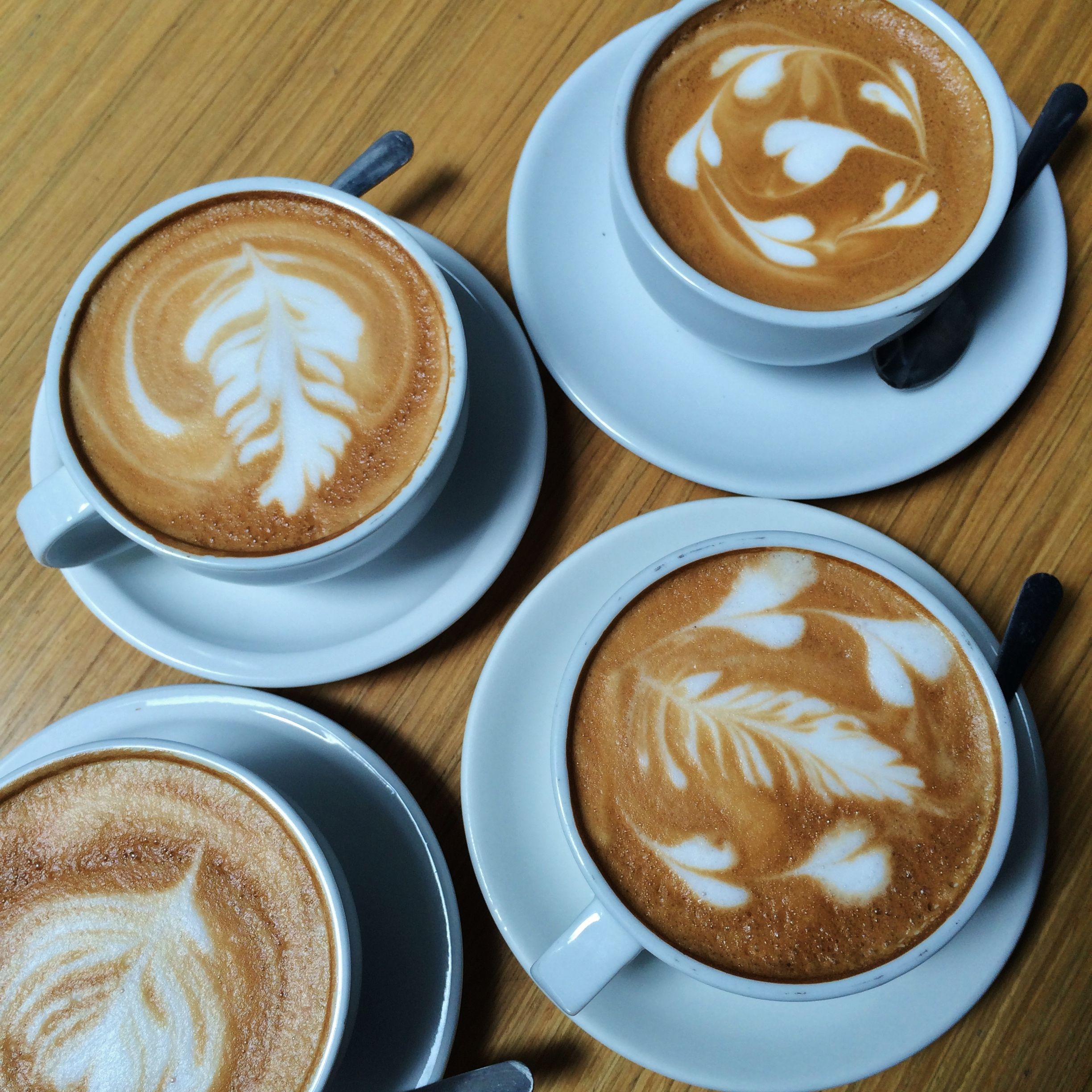 Feels like a 4-organic-coffees-kinda-day to ease into a new week + month! #coffeemotivation #HelloAugust #coffeeart