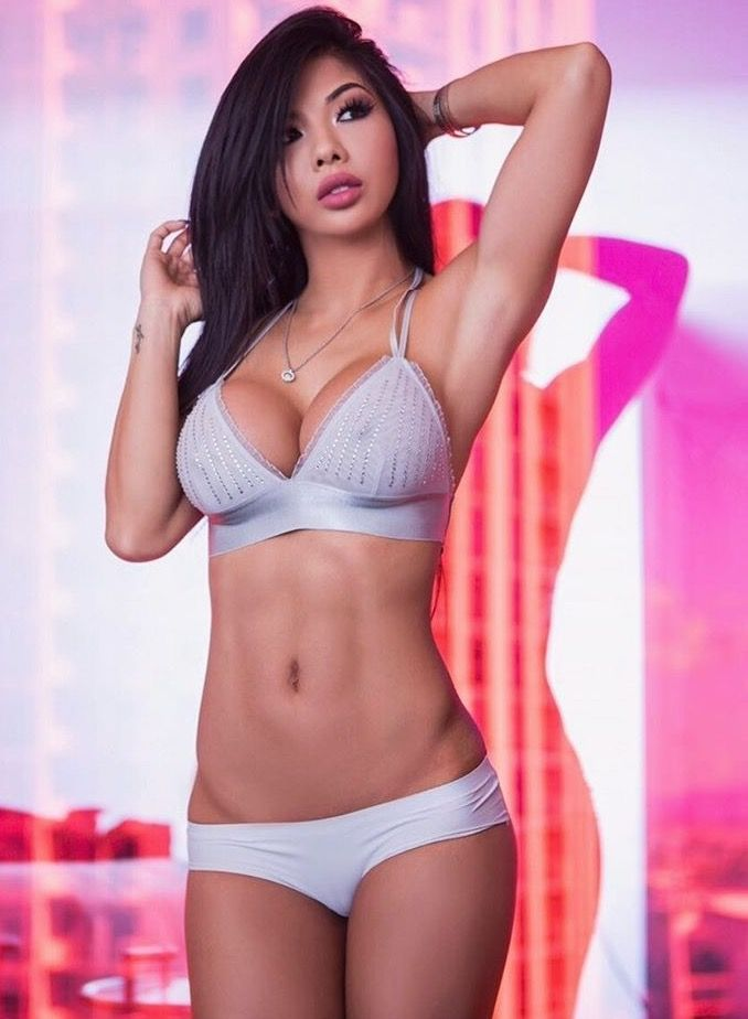 Sexy asian import model