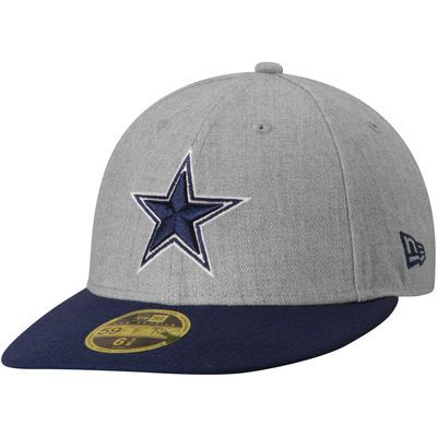 7ee16916d Dallas Cowboys New Era Change Up Low Profile 59FIFTY Fitted Hat - Heather  Gray
