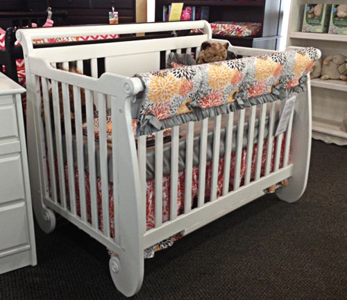 Baby S Dream Serenity Crib In The Snowdrift Finish Absolutely Gorgeous Babysdream Baby Furniture Cribs Baby Bed