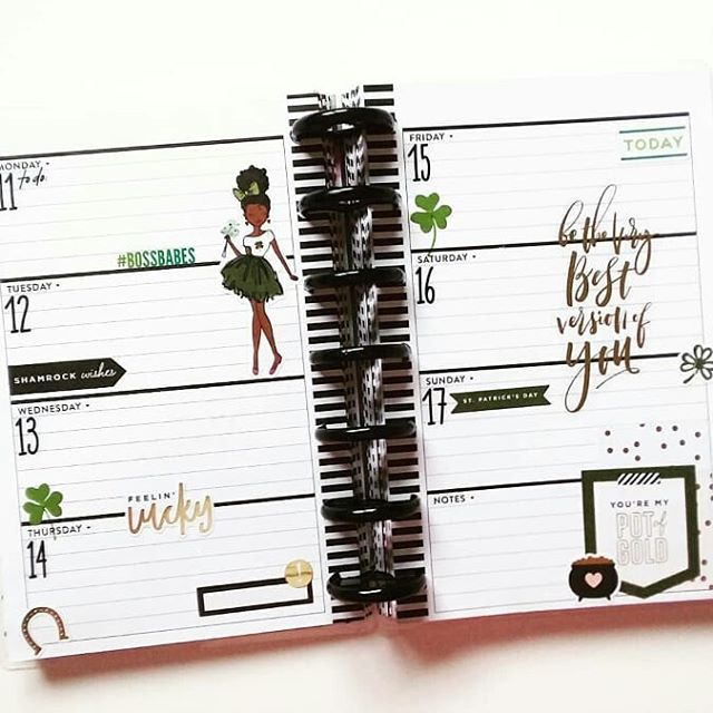 Stationery.Life Ring Binder Mechanism Replacement Kit For Personal Organizers Planners 6 Rings Silver, Personal