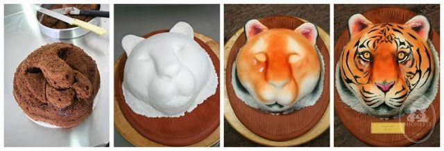 Awesome Food: How to make a Tiger Cake