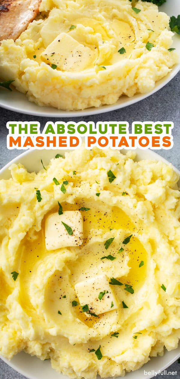 The Best Homemade Mashed Potatoes Recipe In 2020 Homemade Mashed Potatoes Homemade Mashed Potatoes Recipe Easy Potato Recipes
