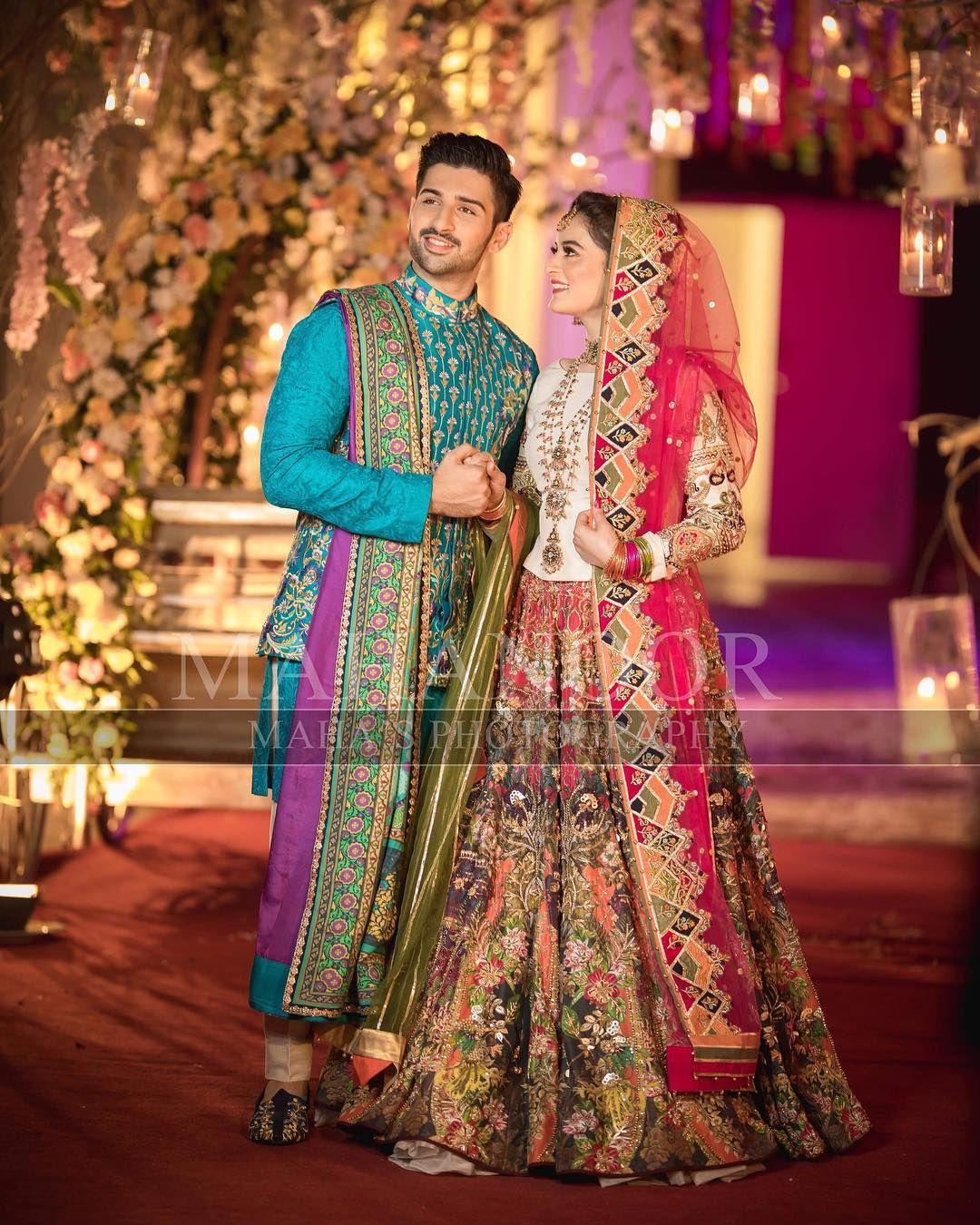 Mehndi Aiman Weds Muneeb Mehndi Dresses Pinterest Aiman