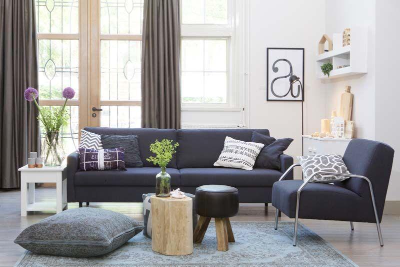 KARWEI  Combineer in de woonkamer verschillende texturen