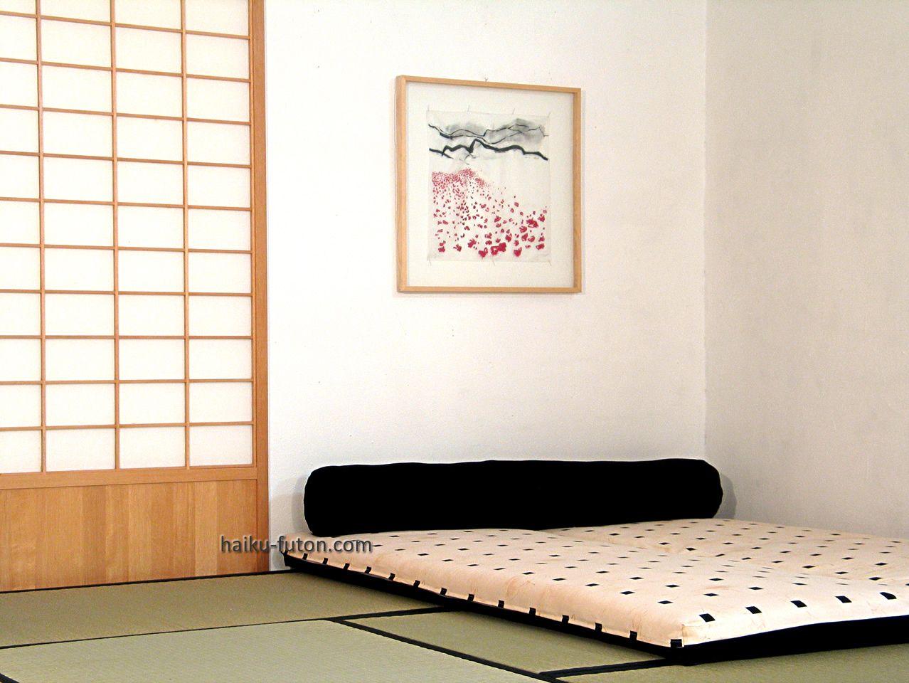 Tatami haiku futon via cosas - Habitacion tatami ...