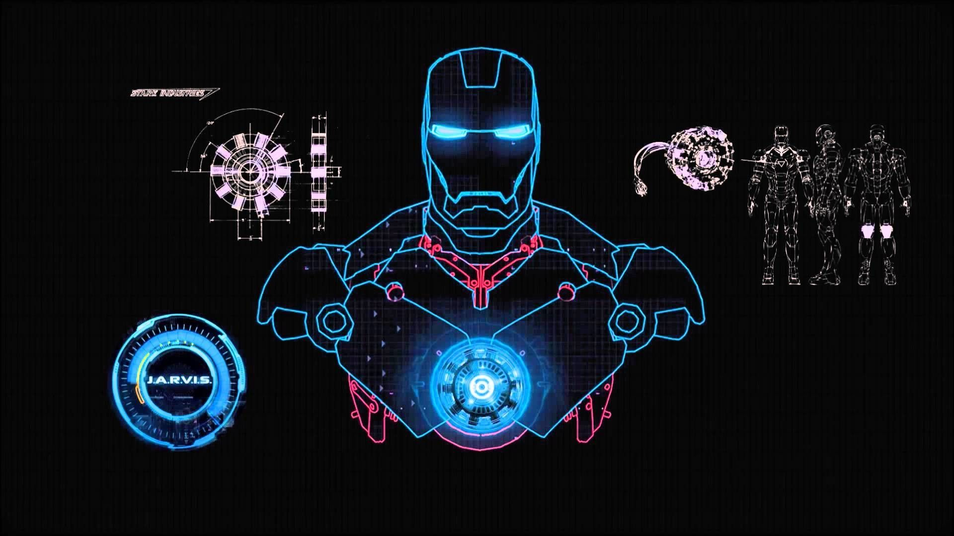 Iron Man 4k Wallpaper Luxury Iron Man Jarvis Desktop Wallpapers