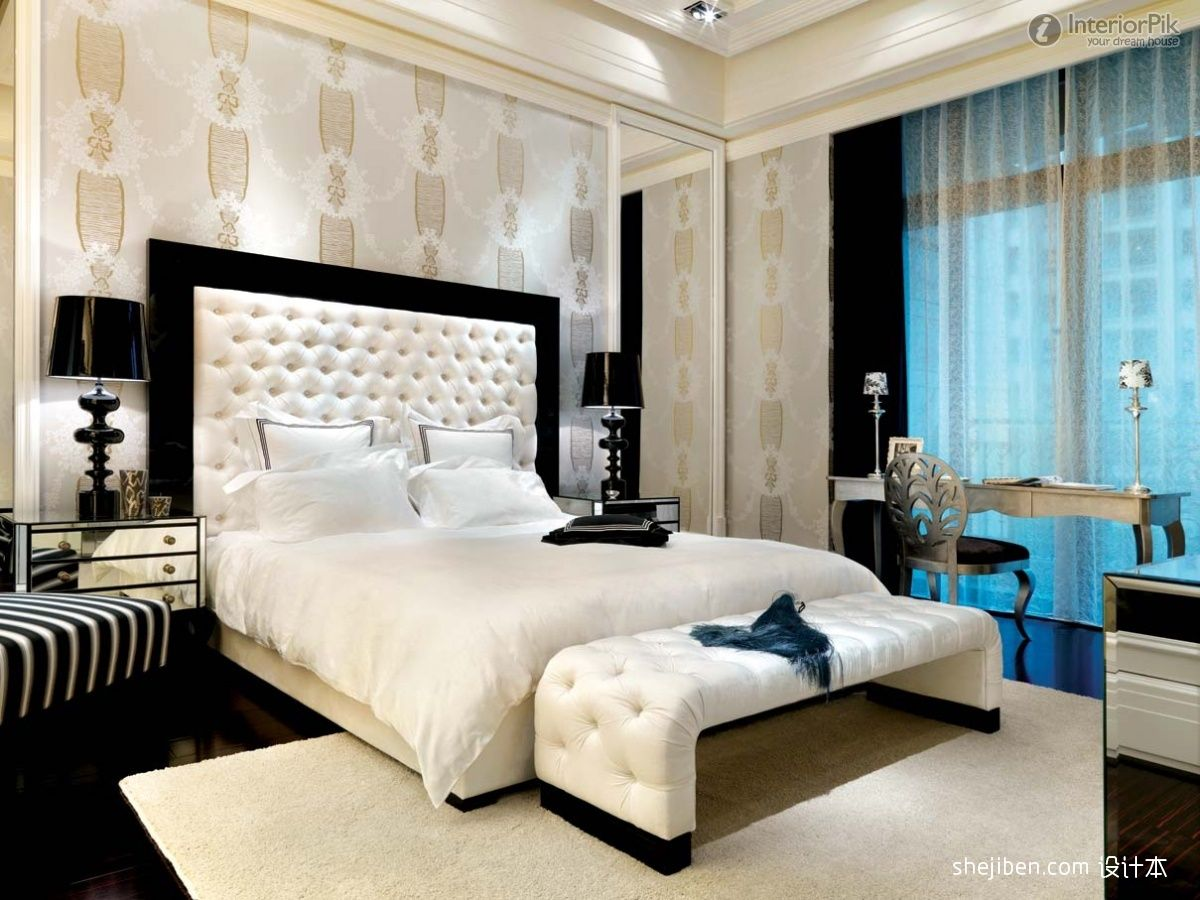 Master bedrooms master bedroom wallpaper decoration for Bedroom interior design