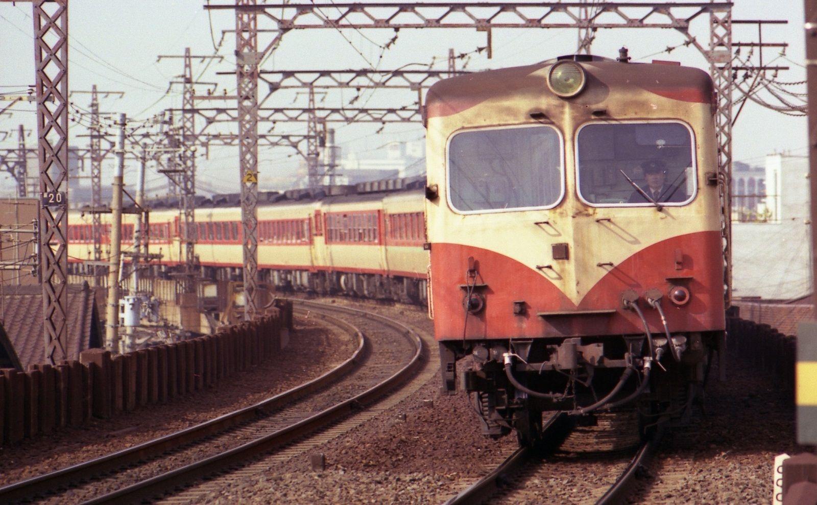 大阪環状線まで来たついでに1976年 昭和51年 1978年 昭和53年 の阪 古い列車 鉄道 写真 列車